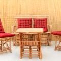 כיסא כפות תמרים טבעי