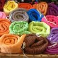 שטיחי כותנה מגולגלים