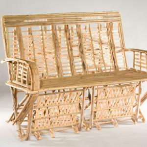 כורסא זוגית מכפות תמרים