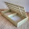 תוספת אחסון לבמת עץ